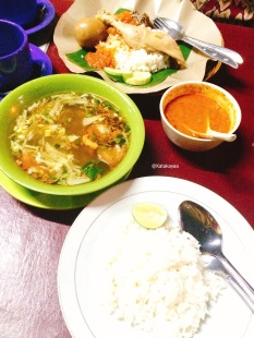 Nasi Soto Ayam